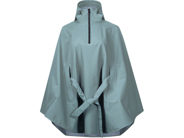 Bergans Oslo 3L Poncho Femme, light forest frost